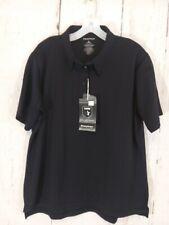 Propper Womens Size XL Short Sleeve Uniform Polo Shirt Navy Blue