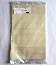 Cross Stitch Fabric Aida 14 Count Ivory 12 x 18 by Charles Craft