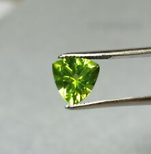 2.96ct PERIDOT Trillion Gemstone Good Quality NATURAL stone