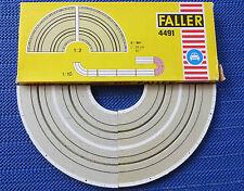 FALLER AMS Rails no. 4491 2 X Curve 90 Degree, Domestic Shipping