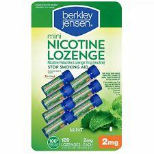 Berkley Jensen Stop Smoking Aid 2mg Mini Mint Nicotine Lozenge - 189 Count