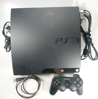 Sony PlayStation 3 Slim 120GB PS3 CECH-2001A TESTED