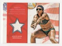 2012 Topps USA Olympic Team Relics Misty May-Treanor Beach Volleyball Gold Medal