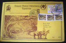 NSW, LISMORE DISTRICT BICENTENARY EQUESTRIAN Ltd Edition No. 403  LARGE FDC 1988