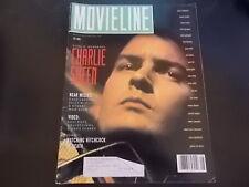Charlie Sheen, Alfred Hitchcock - Movieline Magazine 1990