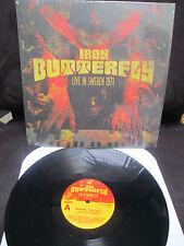 IRON BUTTERFLY - Live in Sweden 1971 VINYL LP  ( in a gadda da vida )