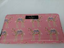 NWT Kate Spade Daycation Camel Party Neda Wallet Clutch New $178 Authentic