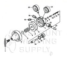Repair Kit Withdiaphragm Victor Sr400 Oxygen Regulator Rebuild Parts Av400rkd