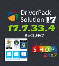 Driver Pack Solution 2017 [17.7.33.4 April 2017]- Update all Windows drivers