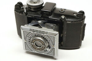 Early Agfa Karat 35mm film camera (# 1), Art Deco style; mostly works!