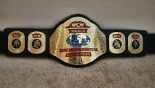 WCW World Light Heavyweight Wrestling Championship Replica Belt Adult size