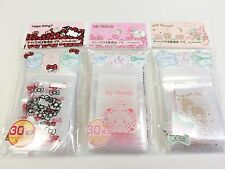 New 90pc Organise Vinyl Zip Lock Purse Hello Kitty My Melody Little Twin Stars