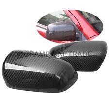 Carbon Fiber Rear view Mirror Cover For  2008-2014 Mitsubishi Lancer X EVO CT