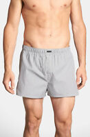 One(1) Calvin Klein Men's Classic Fit Boxers, Striped, Size M, U1732