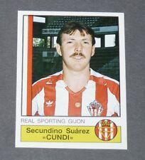 289 CUNDI REAL SPORTING GIJON PANINI LIGA FUTBOL 87 ESPAÑA 1986-1987 FOOTBALL