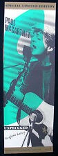 PAUL McCARTNEY Unplugged 1991 Capitol Records US ORG Promo Only POSTER Beatles