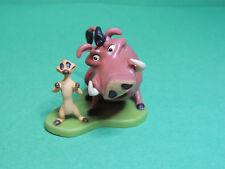 La Garde du Roi lion  Pumbaa & Timon figurine PVC figure Disney store The Guard