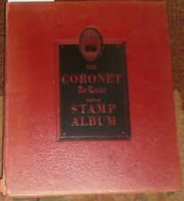Lg Vintage 1940-'50s Stamp Collection: Cornet Deluxe & 2 Sm Albums + Loose