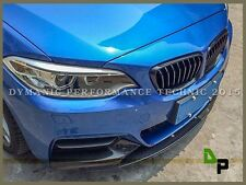 P Style Carbon Fiber Front Bumper Lip For BMW 2-Series 228i 235i M Sports 15-17