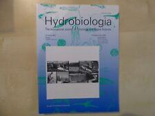 POISSONS: Biotélémétrie Sous-Marine Aquatique, HYDROBIOLOGIA, Vol 483, 2002, TBE