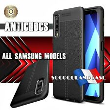 Etui Coque Housse ANTICHOCS Silicone Litchi Grain TPU Samsung Galaxy All models