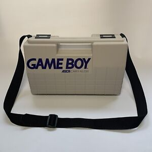 Gameboy DMG Original Hard Carry Case ASCII CARRY-ALL DLX