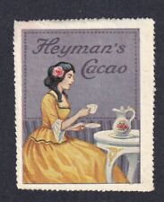 Denmark Poster Stamp  HEYMANS CACAO