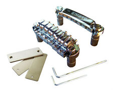 New Babicz FCH Full Contact Hardware Chrome Tune-O-Matic Bridge - Price Drop!