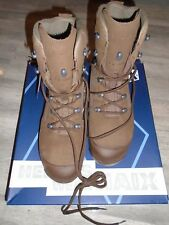 HAIX DESERT COMBAT HIGH LIABILITY MENS BROWN SUEDE BOOTS SIZE 9M NEW