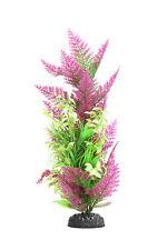 Planta de plástico AquaManta-Púrpura Helecho/estrecha Ludwigia (40cm)