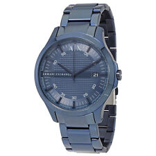 Armani Exchange Hampton Navy Blue Dial Mens Watch AX2193
