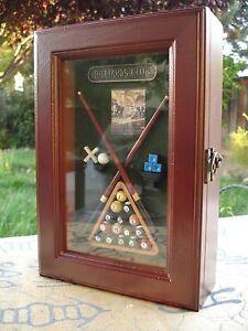 Shadow Key Box Decorative Decor For Billiard Enthusiast (Stk)
