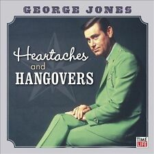 Heartaches and Hangovers by George Jones CD - country/western/honky-tonk music