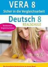 KLETT Sicher in die Vergleichsarbeit Deutsch 8. Klasse Realschule NEU