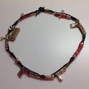 """SALE NWT Uno de 50 Leather Necklace Wrap Bracelet """"Summer Vibes"""""""
