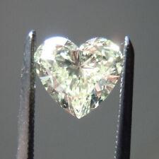 9.5 X 9.5 MM 2.85 Carat Off White Heart Diamond Cut Loose Moissanite For Ring