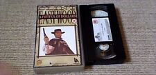 A FISTFUL OF DOLLARS MGM UK PAL VHS VIDEO 1987 Clint Eastwood Spaghetti Western