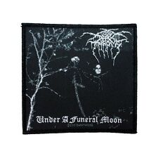 """Darkthrone Under A Funeral Moon"" Band Album Black Metal Sew On Applique Patch"