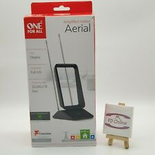 One For All SV9460 Full HD Amplified Indoor TV Aerial 3G/4G Freeview Antenna New