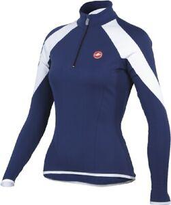 Castelli Momento Women's Long Sleeve Jersey Blue Size Small