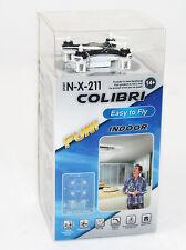 Mini Drohne Colibri Spirit N-X-211 Quadrocopter 2,4 GhZ USB Akku ferngesteuert