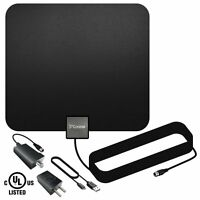 TV Antenna, Costech Indoor Amplified HDTV Antenna with Detachable Signal Booster