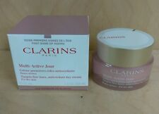 Clarins Multi-Active Jour Day Cream for Dry Skin 1.6oz/50ml NIB/Sealed