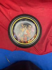 Star Wars Trilogy Hamilton Collector'S Plate By Morgan Plate 1992 W/Frame