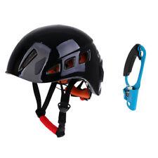 Arborist Rock Climbing Right Hand Ascender Riser +Construction Safety Helmet
