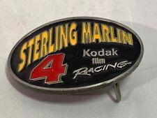 "Sterling Marlin 1996 Special Edition #102 Kodak Belt Buckle 3 1/4"" x 2 1/4"" B2"