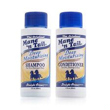 Mane n Tail Deep Moisturizing Shampoo & Conditioner for Dry Damaged Hair 2oz Set