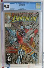 Deathlok #1 CGC 9.8 NM/M 1991 White Pages