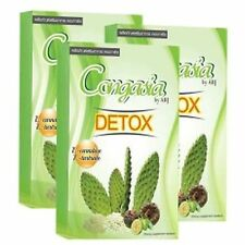3X CONGASIA DETOX CONCENTRATE COLON CLEANSING WEIGHT LOSS DIETARY 20 Tables