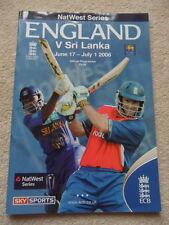 ENGLAND V SRI LANKA: ODI 2006. STRAUSS,PIETERSON,COOK. EXCELLENT CONDITION.